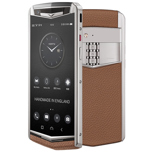 Vertu Aster P brown mobile phone