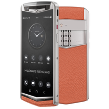 Load image into Gallery viewer, Vertu Aster P orange mobile phone