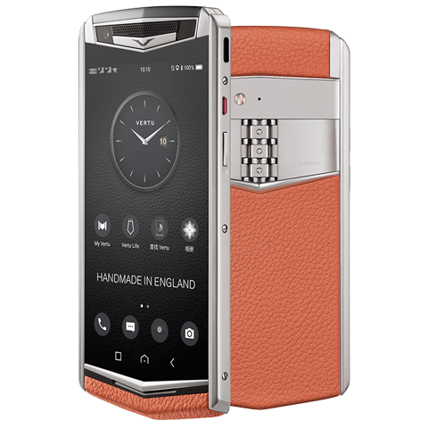 Vertu Aster P orange mobile phone