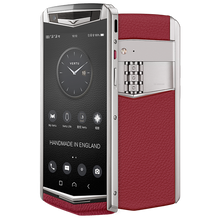 Load image into Gallery viewer, Vertu Aster P red mobile phone