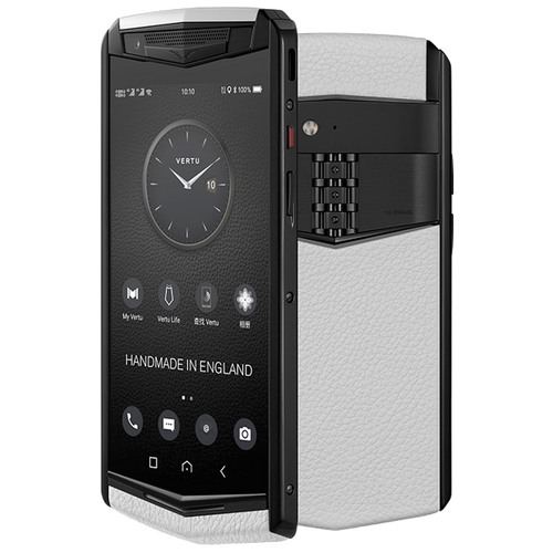 Vertu Aster P white mobile phone