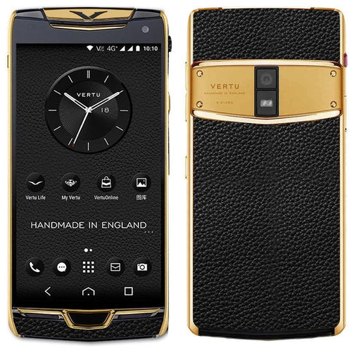 Vertu Constellation black gold price