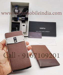 Vertu Constellation brown price