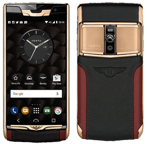 Vertu Signature Touch For Bentley Red Gold