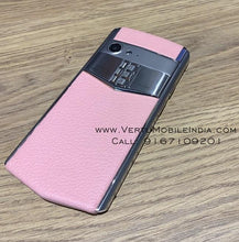 Load image into Gallery viewer, Vertu Aster P Made To Order / Pink Leather