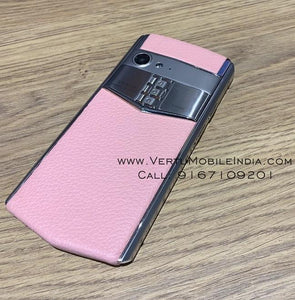 Vertu Aster P Made To Order / Pink Leather