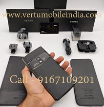 Load image into Gallery viewer, vertu constellation black price in india