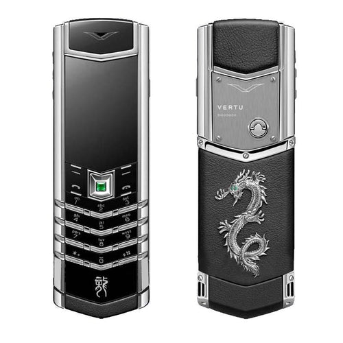 vertu signature silver dragon mobile india