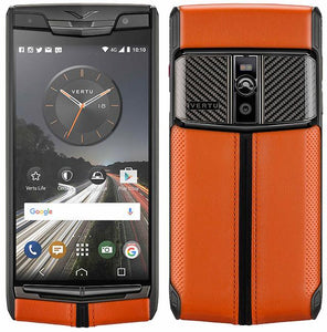 vertu signature touch carbon sport mobile phone