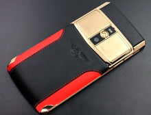 Load image into Gallery viewer, Vertu Signature Touch Bentley Red Gold Luxury Mobile Phone