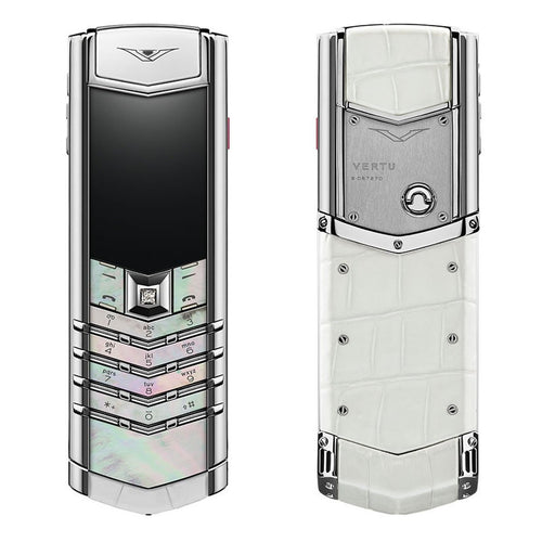 vertu signature mother of pearl