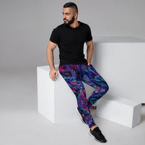 "HUES ""Distorted"" All Over Print Men's Joggers"