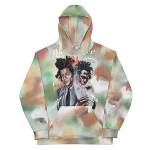"HUES ""Revolutionary Artists"" All Over Print Hoodie"