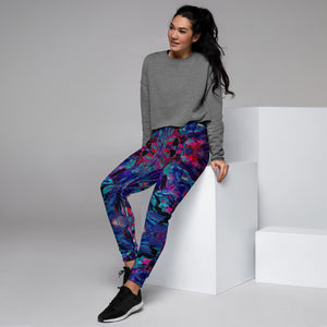 "HUES ""Distorted"" All Over Print Women's Joggers"