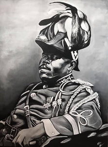 """Marcus Garvey"" CANVAS PRINT"