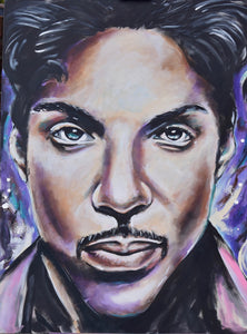 "'Purple Rain"" CANVAS PRINT"