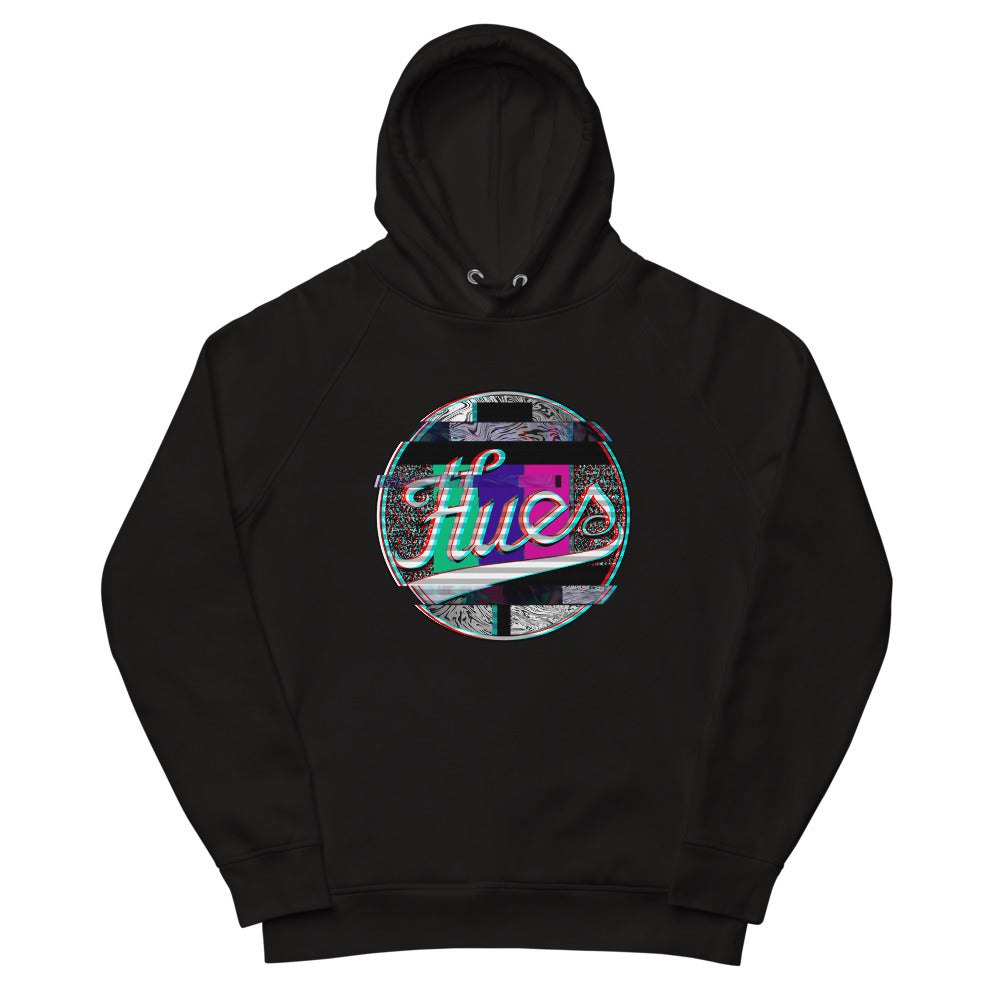 "HUES ""Distorted"" Unisex Pullover Hoodie (European Fit, Must size up)"