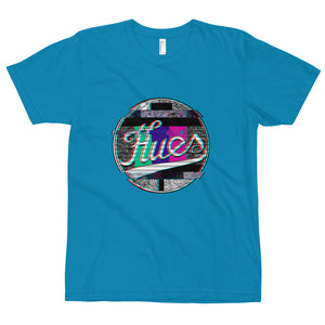 "HUES ""Distorted"" Unisex Short Sleeve T-Shirt"