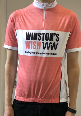 Winston's Wish cycling top