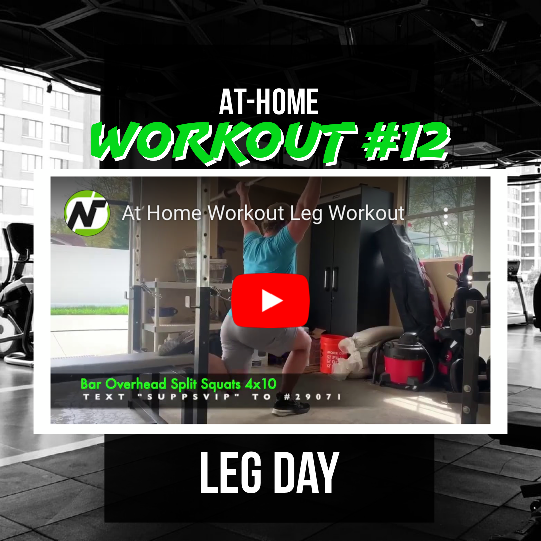 At-Home Workout #12 - Legs