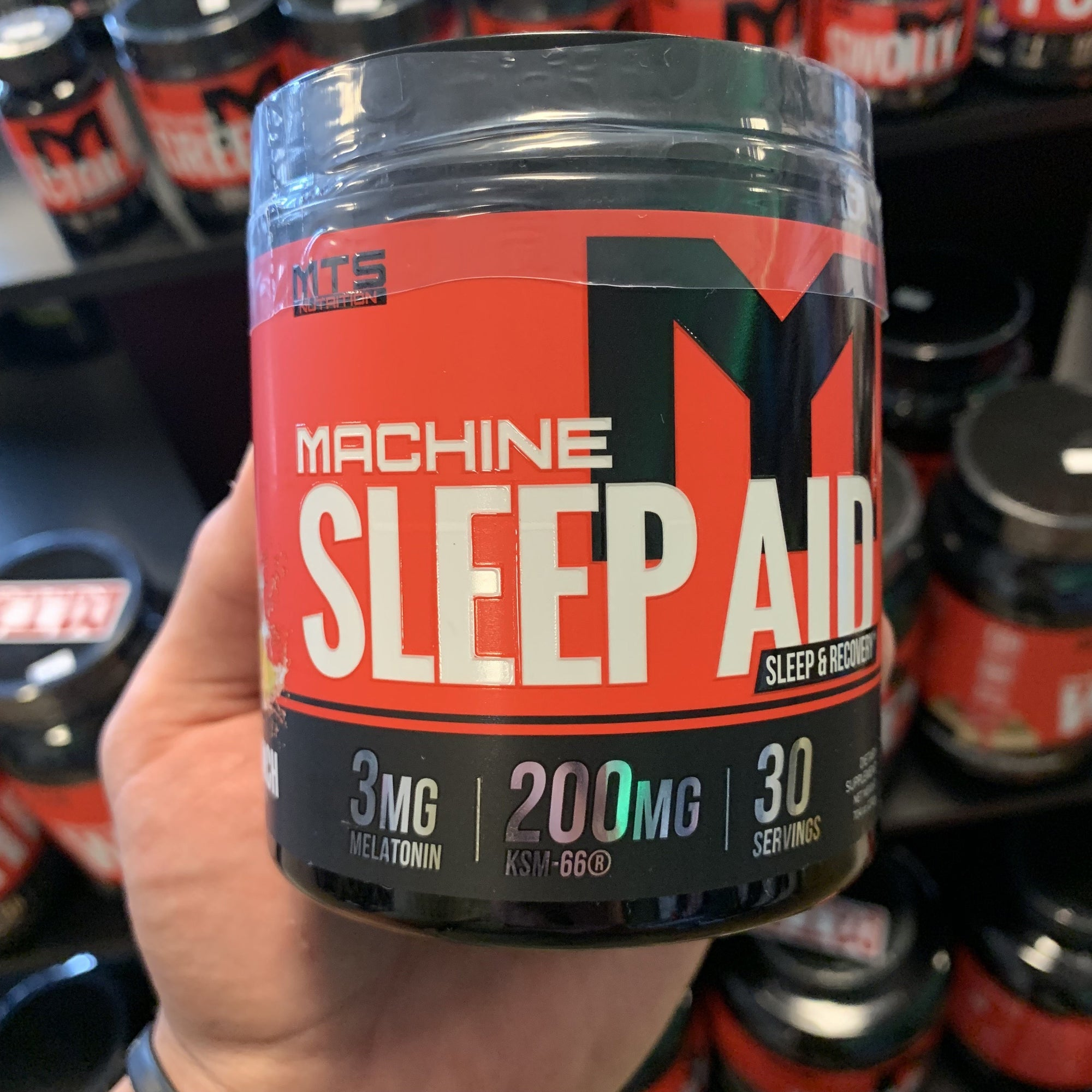 Are you getting enough sleep? MTS Nutrition Sleep Aid Overview