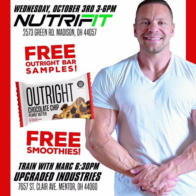 Meet & Train with Marc Lobliner, CEO of MTS Nutrition!