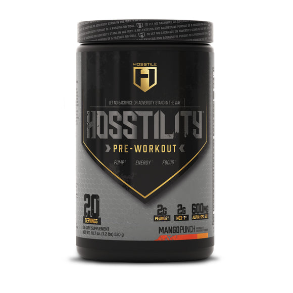 Hosstile Supplements Hosstility