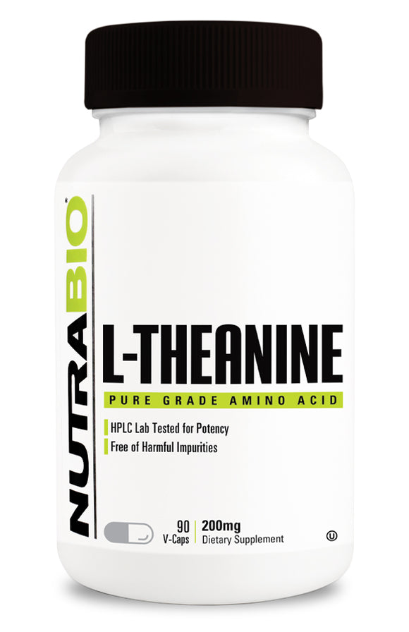 NutraBio L-Theanine (200mg)