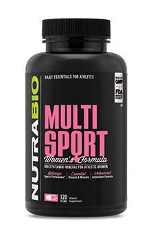 NutraBio MultiSport for Women | NutriFit Cleveland