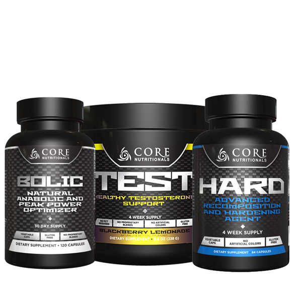 Core Nutritionals Natural Builder Stack | NutriFit Cleveland