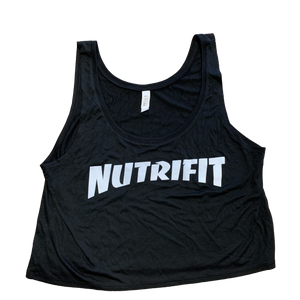 Women's Trasher Crop Tank | NutriFit Cleveland