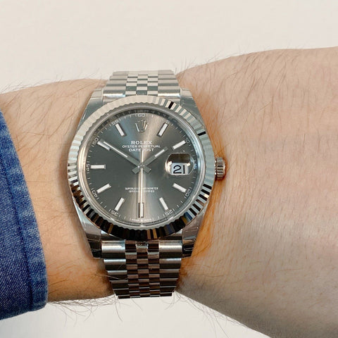 Rolex Datejust 41 - 126334   Jubilee Grey