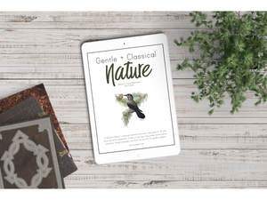 Gentle + Classical Nature Vol 1 Teacher's Guide (NEW!)