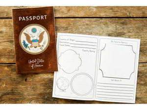 Printed Passport for On Mission