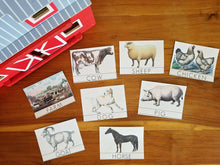 Load image into Gallery viewer, Animal Counting + 3-Part Montessori Cards (Digital)