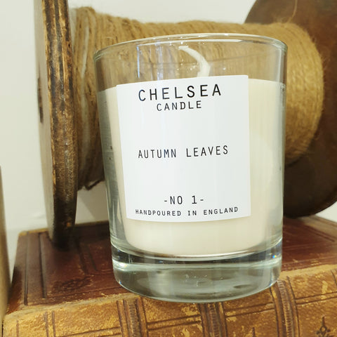 'Autumn Leaves' Scented Candle - Large