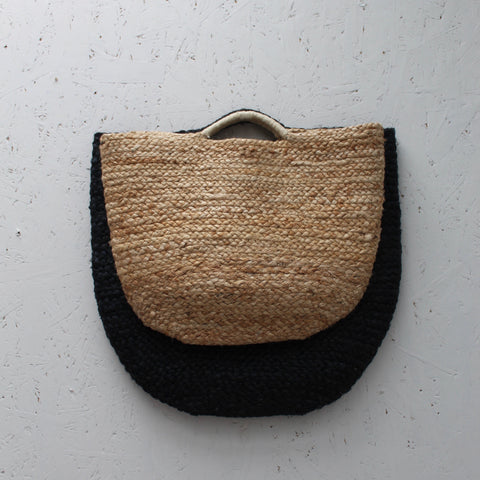 Natural Jute Shopper - Small