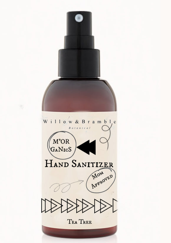 Hand Sanitizer M'Organics Tea Tree Hand Sanitizer - Willowandbramble