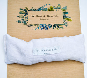 Organic Linen EYE PILLOW 75% off Gorgeous Belgium Organic Belgian Linen Infused in Lavender  Eye Pillow unscented as well - Willowandbramble
