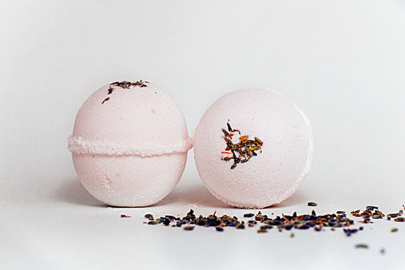 Lavender Cold and Flu Bath Bomb/Shower Fizzies - Willowandbramble