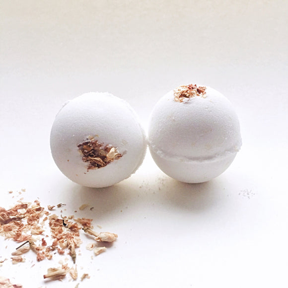 Sandalwood Jasmine Bath Bomb/Shower Fizzies - Willowandbramble