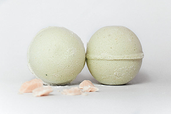 Peppermint Eucalyptus Cold and Flu Bath Bomb/Shower Fizzies - Willowandbramble