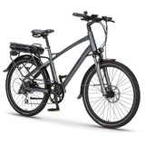 Wisper 905 Torque Crossbar Electric Bike - Titanium Grey
