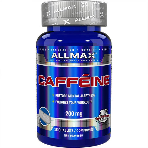 ALLMAX Caffeine 200mg (100 Servings)
