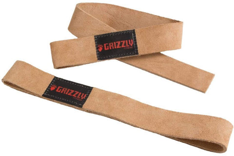 Grizzly Leather Lifting Straps (8640-00)