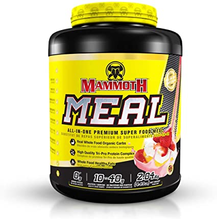 Mammoth Meal 2.04kg 40 Servings (Strawberry Shortcake)