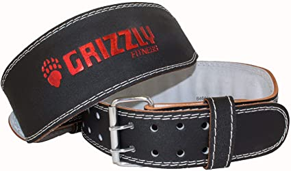 "Grizzly 4"" Enforcer Training Belt Medium (8464-04)"