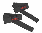 Grizzly Padded Lifting Straps Black (8611-04)