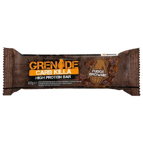 Grenade Carb Killa Protein Bar Individual (Fudge Brownie)