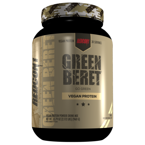 Green Beret Vegan Protein 2.31lbs 30 Servings (Vanilla)